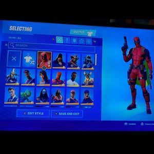 Footnote account 100+ skins with SAVE THE WORLD